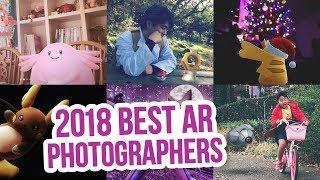 The BEST AR Photographers in Pokémon GO - 2018