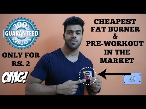 Best Fat Burner/Preworkout in Rs.2 | GUARANTEED RESULTS