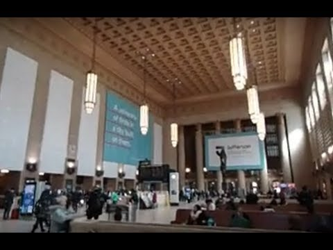 Philadelphia 30th Street Station Tour - Amtrak, SEPTA