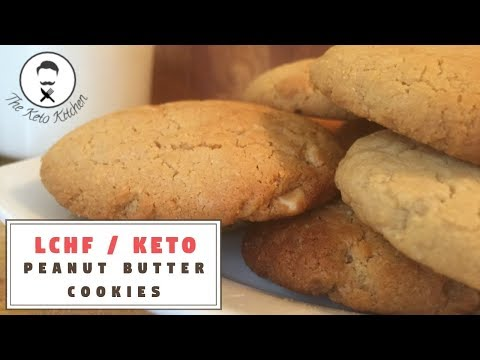 Peanut Butter Cookies [NO FLOUR] || The Keto Kitchen