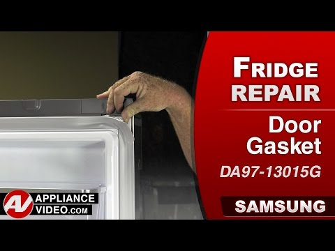 Samsung Refrigerator  - Door Gasket Repair & Diagnostic