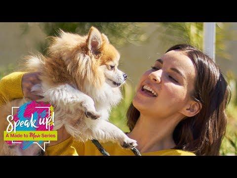 Ingrid Nilsen's Dog Adoption Tips - Speak Up: A Made to Move Series