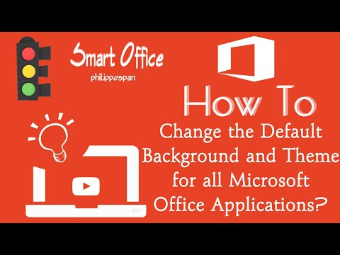 Change Office 13 Look And Theme