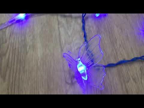 Christmas lights . Beautiful LED string lights