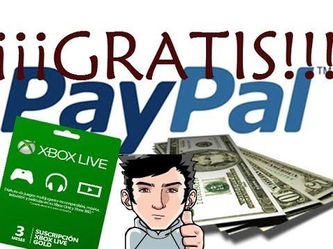 COMO GANAR DINERO EN PAYPAL Y XBOX LIVE GOLD 3MESES GRATIS!