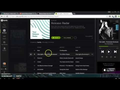 Spotify - how to use Release Radar and Discover Weekly Archive