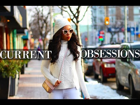CURRENT OBSESSIONS - Fashion, Lifestyle & Fitness THINGS YOU NEED!