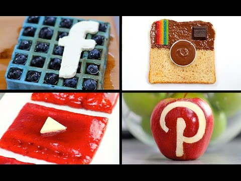 Social Media Breakfast Set! All your Favourite Apps as a Meal - My Cupcake Addiction