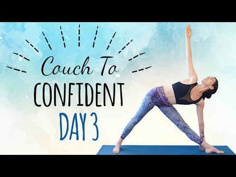 Day 3: Yoga for Inner Thighs & Glutes ♥ Flexibility, Balance, Leg Workout, 30 Minute Class
