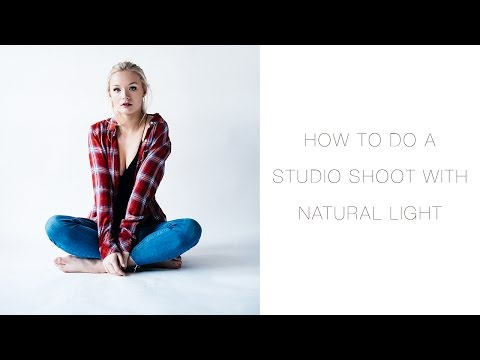 How To Do A Studio Photoshoot With Natural Light