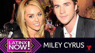 Latinx Now! | Miley Cyrus Publica Carta De Amor A Liam Hemsworth En Instagram | Telemundo