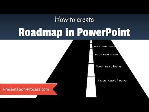 How To Create Simple PowerPoint Roadmap