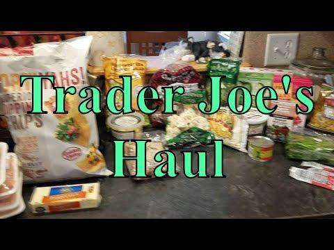 Trader Joe's Grocery Haul 1 21 18