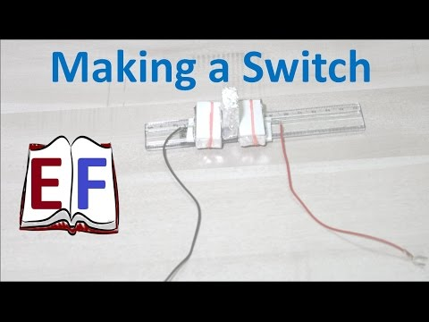 How to make an Electric Switch ? : School Science Project