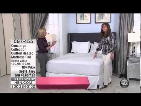 Quilted, Heated Queen Mattress Pad