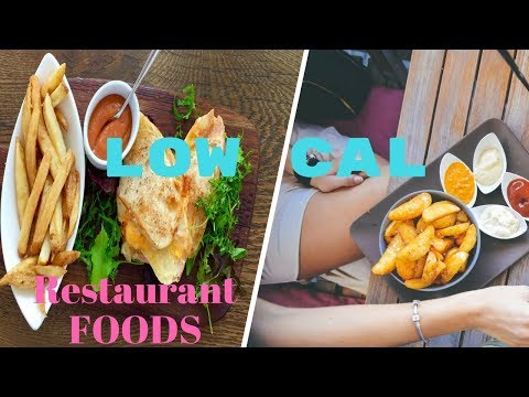 Healthy fast Food meal Choices Low Cal Restaurant Meals