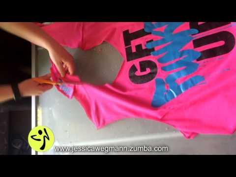 Zumba T shirt Cut by Jessica Wegmann