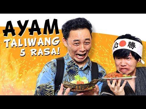 TERPEDAS! Ayam Taliwang 5 Rasa Taklukkan Genki Daisuke! | Spicy Journey #12