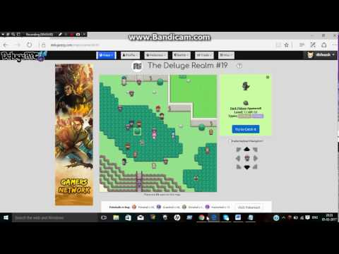 How to catch legendary pokemon on deluge rpg 2017 #2