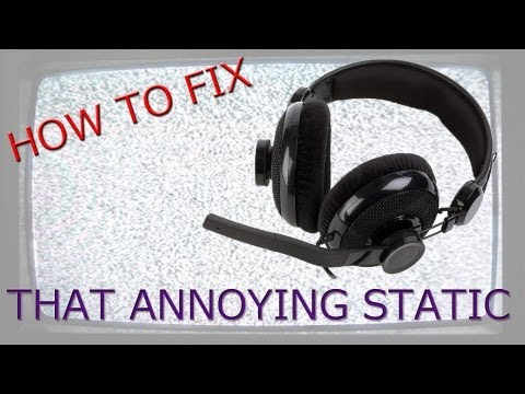 HOW TO FIX STATIC ON MIC/HEADSET (ALC898 Realtek) (Mechanical Way)