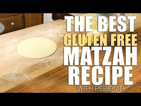 The World's Best Gluten Free Matzah Recipe