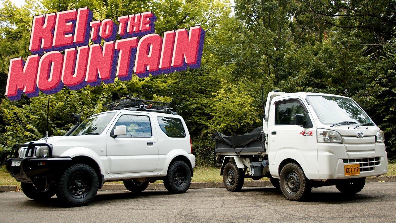4X4 Adventure in a Sierra Jimny & a JDM Kei Truck [OFF ROAD FEATURE FILM]