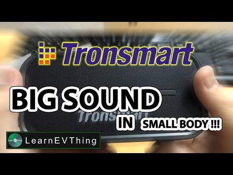 Tronsmart Element T2 - BIG SOUND in small body !