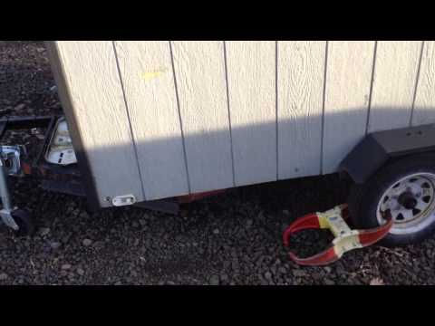 Harbor Freight trailer structural failure