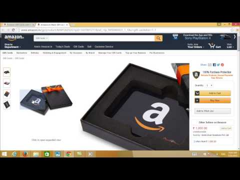What is Amazon Gift Card and how to use it in Tamil