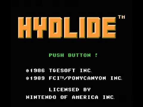 Hydlide (NES) Music - Title Theme & Overworld