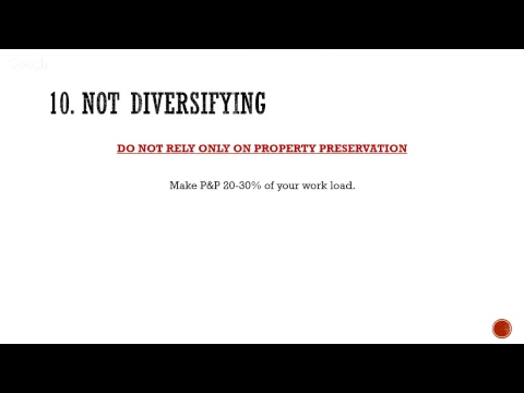Property Preservation Training Live The Top 10 Mistakes Property Preservation Contractors Make