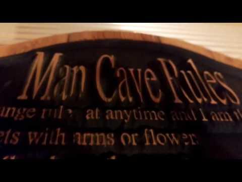Man Cave Sign Rules Fail!!!