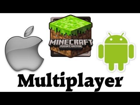 Vergleich: Minecraft auf iPad 3 und SG Note 10.1 - Multiplayer iOS & Android - Pocket Edition