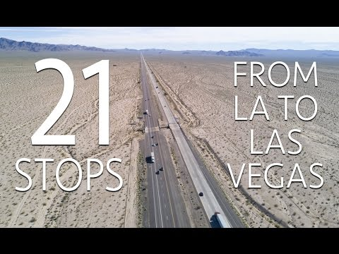21 Road Trip Stops From Los Angeles to Las Vegas
