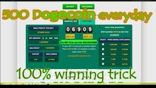 freedoge co in tricks low balance freedoge new trick 2017 in