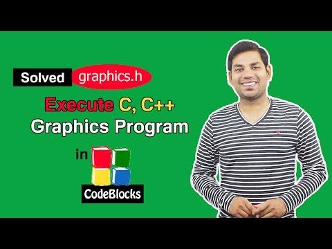 How toRun C/C++ Graphics Program in CodeBlocks? (HINDI)