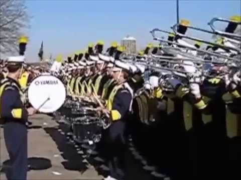 The Michigan Band - Let's Go Blue -The University of Michigan Wolverines Football 2014 Team 135