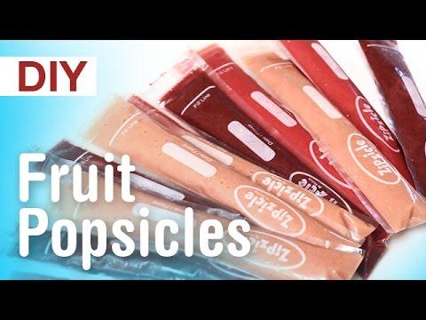 DIY Healthy Fruit Popsicles | ArtsyPaints