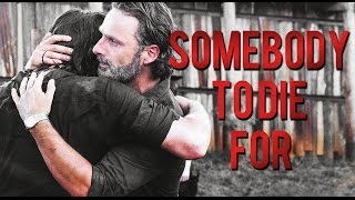 Rick and Daryl   Somebody to die for (7x08)