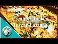 Easy Creamy Chicken Lasagna With White Sauce | How To Make Easy Simple Lasagna