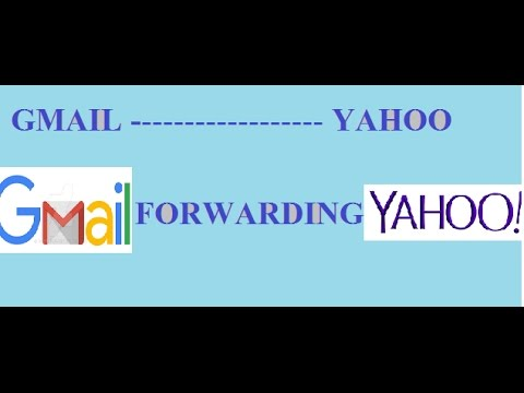 How to do forwarding Email from Gmail to Yahoo Mail