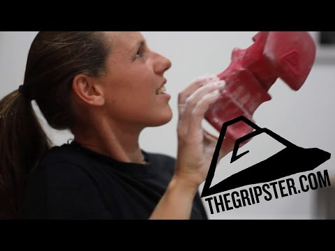 The Gripster Finger Strength Training Tool for Climbers