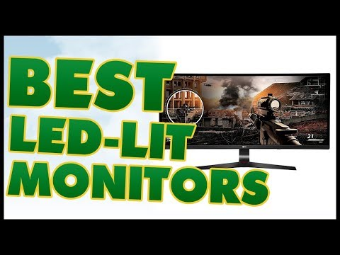 5 Best LED-Lit Monitor Reviews 2017