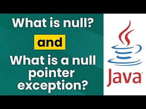 What is null? (Java)