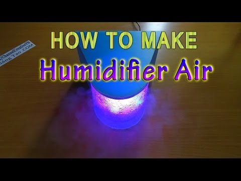 How to make Humidifier Air use Water bottles