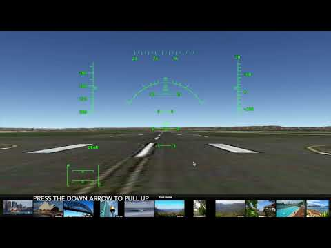 How to fly a plane in Google Earth Pro on Mac