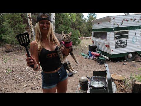 Bridge & Brook the Trailer Cooks: Elk Meat Sauce And Pasta