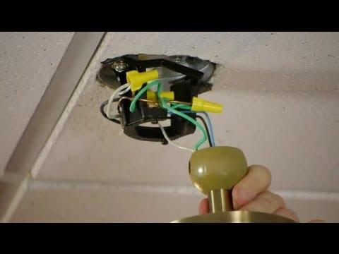 Removing Ceiling Fans : Ceiling Fans
