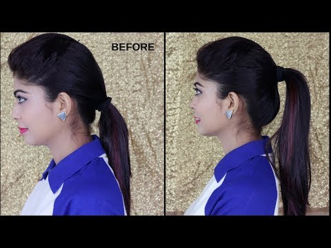 2 minute perfect High ponytail | Tips & Tricks| Rinkal Soni