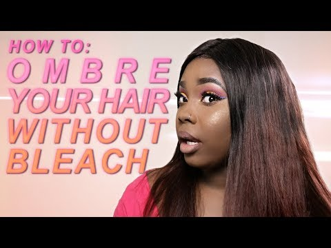 How To Ombre Your Hair Without Bleach | Sis Hair 1-Month Update